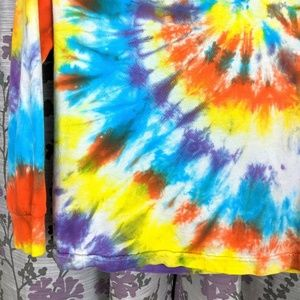 BOLD Color Tiedye Long Sleeve Tshirt